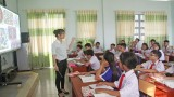 Học sinh THCS học bán trú, 2 buổi/ngày góp phần nâng cao chất lượng giáo dục