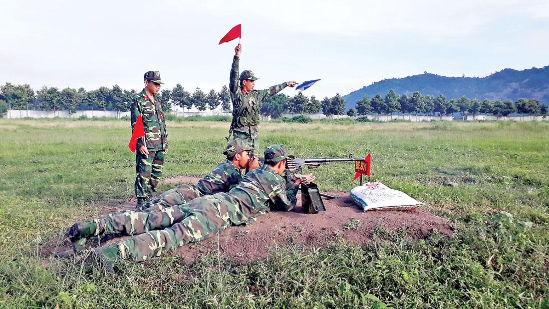 Lực lượng vũ trang không ngừng nâng cao chất lượng huấn luyện sẵn sàng chiến đấu