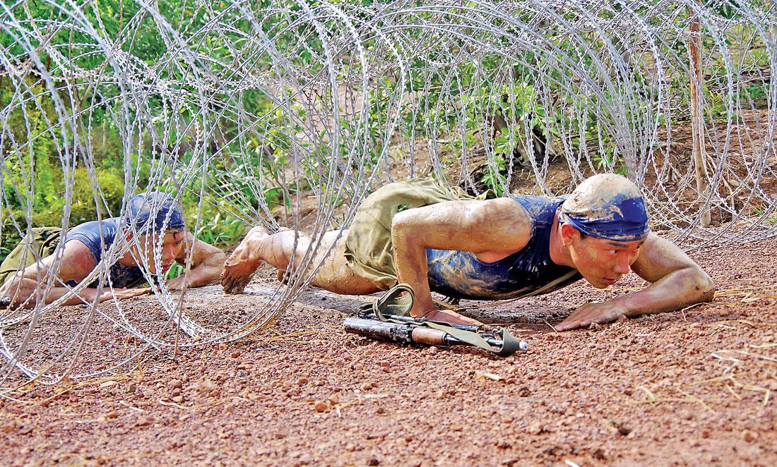 Lực lượng vũ trang không ngừng nâng cao chất lượng huấn luyện