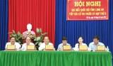 Phó Thủ tướng Thường trực Chính phủ - Trương Hòa Bình tiếp xúc cử tri tại Long An