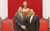 Đảng Cộng sản Việt Nam và Nhật Bản hợp tác phát triển không ngừng