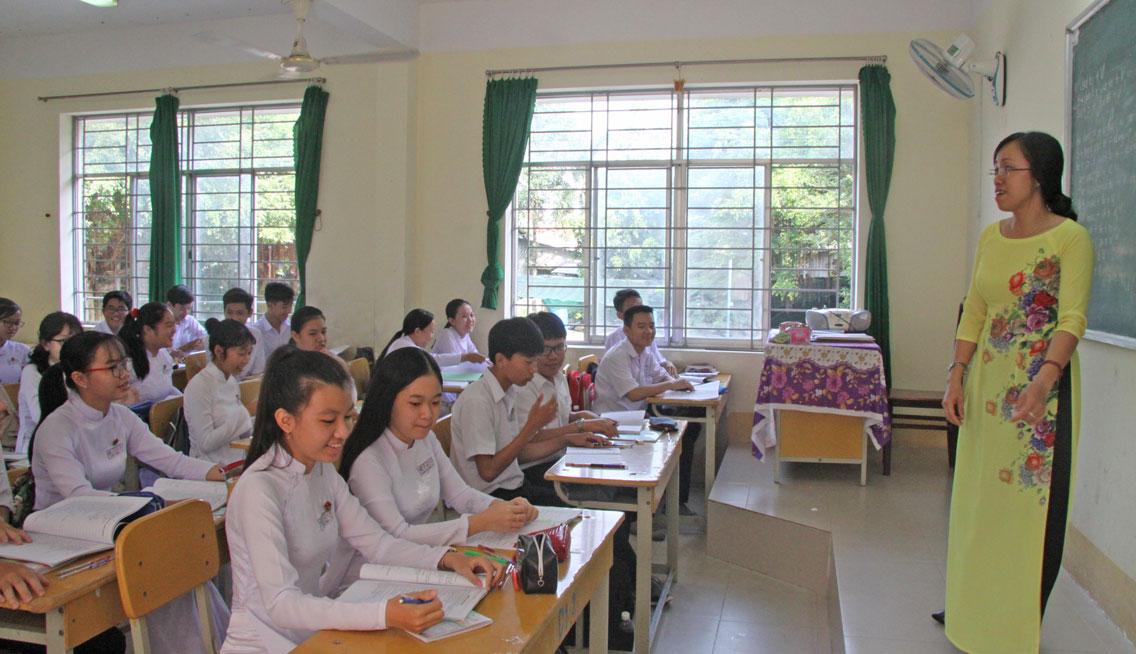 Học sinh lớp chất lượng cao của Trường THPT Lê Quý Đôn