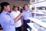 Đoàn cán bộ huyện Phú Hòa, tỉnh Phú Yên học tập kinh nghiệm trong hoạt động HĐND tại huyện Cần Giuộc
