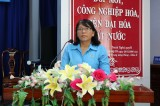 Liên đoàn Lao động tỉnh Long An họp mặt Ngày Phụ nữ Việt Nam 20/10