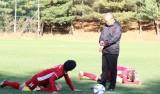 Cận cảnh đội tuyển Việt Nam luyện tập trên quê hương ông Park Hang-seo