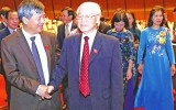 Giới thiệu Tổng Bí thư để Quốc hội bầu Chủ tịch nước: Sự thống nhất cao của ý Đảng, lòng dân