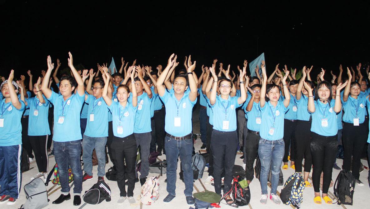 Hội trại là sân chơi bổ ích, góp phần đoàn kết, tập hợp thanh niên