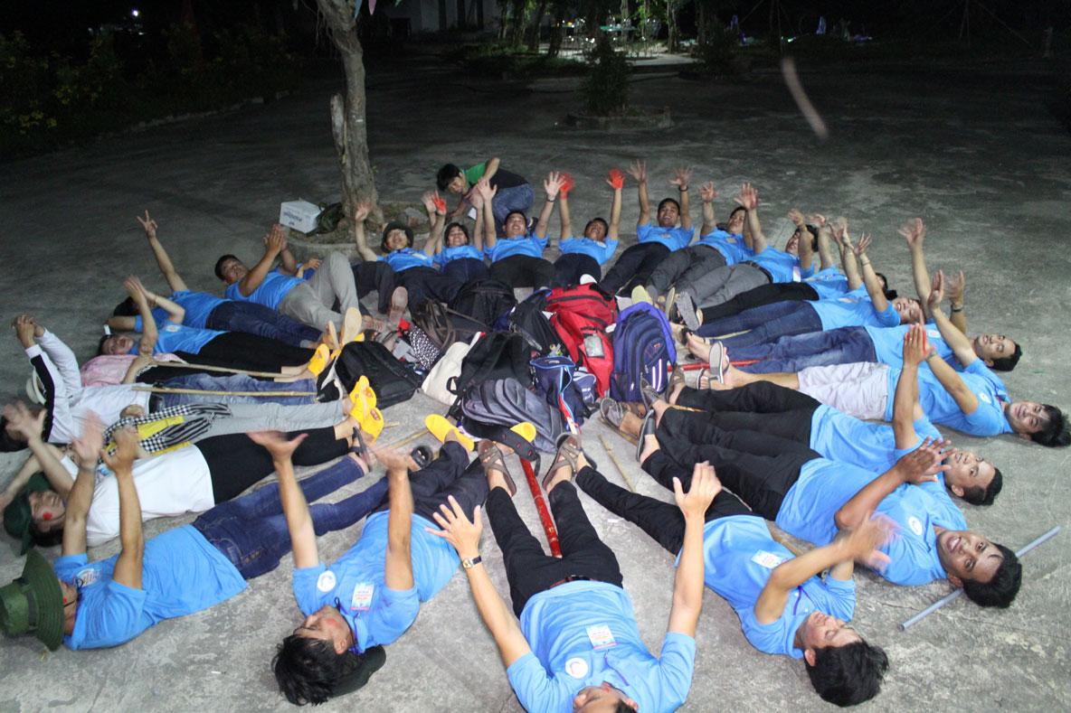 Hội trại là sân chơi bổ ích góp phần đoàn kết, tập hợp thanh niên
