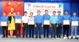 Hội thi Nét đẹp màu áo xanh: Huyện đoàn Cần Giuộc đoạt giải nhất