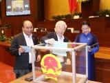 Lấy phiếu tín nhiệm 48 người giữ chức danh do Quốc hội bầu, phê chuẩn