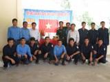 Bộ Chỉ huy Quân sự tỉnh Long An thăm Đội K73 đang làm nhiệm vụ tại Campuchia
