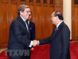 Thủ tướng Nguyễn Xuân Phúc tiếp Đoàn Ủy ban nghề cá, Nghị viện châu Âu
