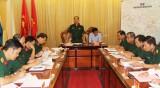 Bộ Tư lệnh Quân khu 7 kiểm tra công tác quân sự - quốc phòng tỉnh Long An