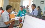 Đức Hòa nâng cao hiệu quả cải cách hành chính