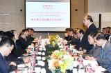 Thủ tướng Nguyễn Xuân Phúc tọa đàm với tập đoàn hàng đầu Trung Quốc