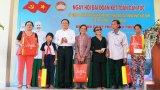 Chủ tịch UB Trung ương MTTQVN dự Ngày hội Đại đoàn kết toàn dân tộc tại huyện Cần Giuộc