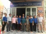 Đoàn cơ sở Sở Tài nguyên và Môi trường Long An trao nhà tình thương