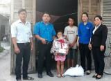 Đoàn phường Tân Khánh, TP.Tân An đồng hành cùng những hoàn cảnh khó khăn