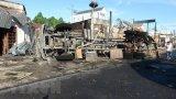 Xe bồn chở xăng gây tai nạn kinh hoàng, 6 người chết cháy