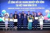 Công bố 100 Doanh nghiệp bền vững tại Việt Nam năm 2018