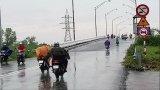 Long An có mưa và mưa vừa do ảnh hưởng hoàn lưu bão số 9