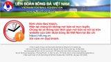 Website của Liên đoàn Bóng đá Việt Nam không thể truy cập