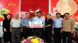Cty VWS tài trợ 120 triệu đồng xây cầu nông thôn tại Long An