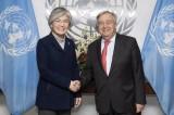 Liên hợp quốc vẫn ủng hộ tiến trình hòa bình trên bán đảo Triều Tiên