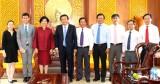Tổng Lãnh sự Thái Lan tại TP.HCM chào xã giao lãnh đạo tỉnh Long An