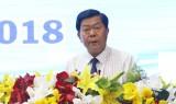 Chủ tịch UBND tỉnh Long An đối thoại với công nhân, người sử dụng lao động