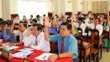 HĐND huyện Tân Hưng thông qua 8 nghị quyết tại kỳ họp thứ 11, khóa V
