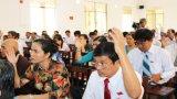 Kỳ họp thứ 12, HĐND huyện Tân Trụ thông qua 11 nghị quyết