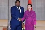 Chủ tịch Quốc hội tiếp Tổng Thư ký Liên minh Nghị viện Thế giới