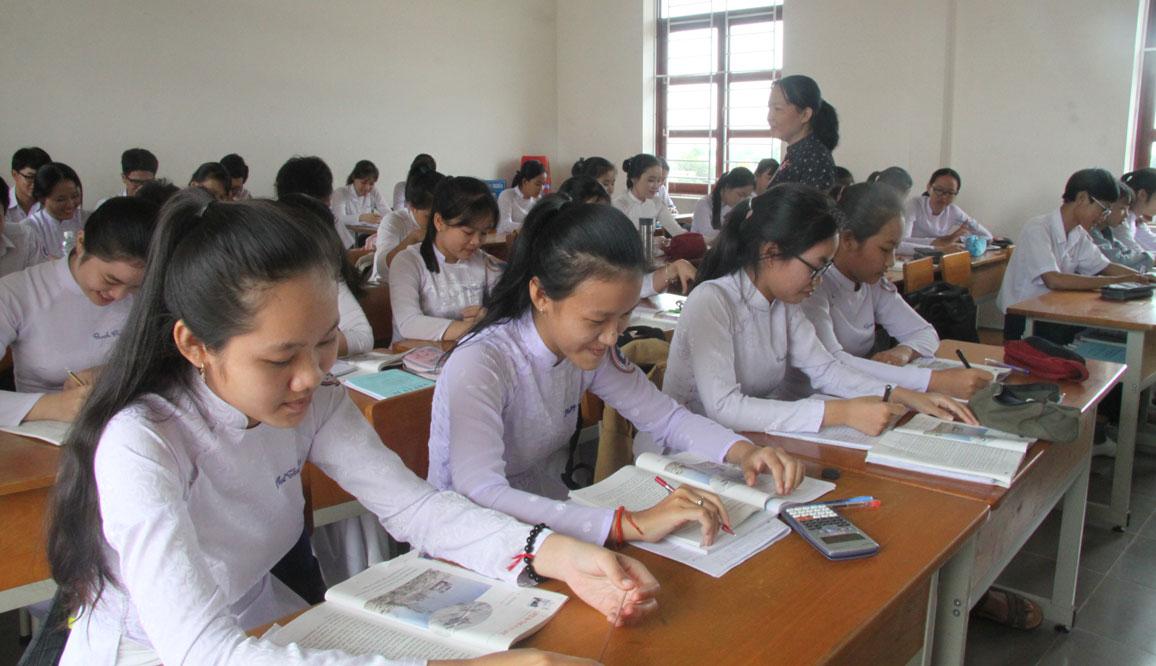 Giáo viên chú trọng phát huy tinh thần tự học của học sinh