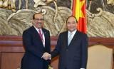 Thủ tướng tiếp các nhà đầu tư vào dự án Liên hợp lọc hóa dầu Nghi Sơn