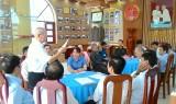 Huyện Tân Thạnh tiếp nhận quản lý Nhà truyền thống Cơ quan Chính trị Quân khu 8
