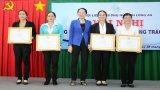 Phụ nữ Long An vận động thực hiện công tác xã hội trên 14 tỉ đồng