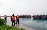 Ngư dân vào âu tàu đảo Sinh Tồn và Song Tử Tây tránh áp thấp nhiệt đới