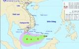 Xuất hiện áp thấp trên Biển Đông, rất gần quần đảo Trường Sa
