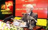 Tổng Bí thư, Chủ tịch nước nêu 5 nhiệm vụ trọng tâm ngành Công an