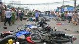 Vụ tai nạn giao thông tại ngã tư Bình Nhựt: Chính thức khởi tố bị can tài xế xe container