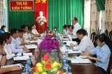 Giám sát quản lý, sử dụng đất tại thị xã Kiến Tường