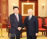 Tổng Bí thư, Chủ tịch nước tiếp Thủ tướng Lào Thongloun Sisoulith