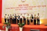 Bế mạc Hội nghị lần thứ 9 Ủy ban Trung ương Mặt trận Tổ quốc