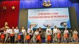 Trao 210 suất học bổng và 15 xe đạp cho trẻ em có hoàn cảnh đặc biệt khó khăn