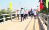 Nguyên Chủ tịch nước – Trương Tấn Sang dự Lễ khánh thành cầu giao thông nông thôn tại Đức Hòa