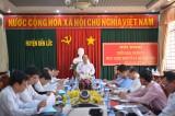 Đoàn đại biểu Quốc hội tỉnh Long An giám sát tại huyện Bến Lức