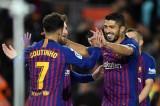 Messi, Suarez tỏa sáng giúp Barca vững vàng trên đỉnh La Liga
