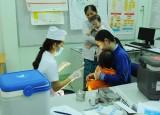 Long An triển khai chiến dịch tiêm vắc xin sởi-rubella cho trẻ từ 1 đến 5 tuổi