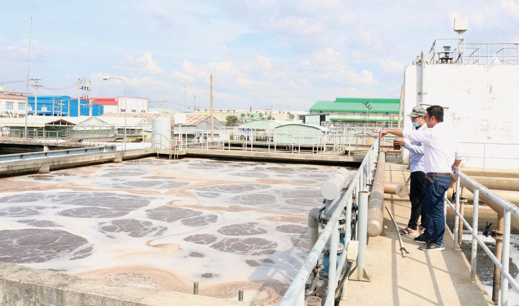 Bảo vệ môi trường tại các khu, cụm công nghiệp luôn được cơ quan quản lý nhà nước kiểm tra chặt chẽ
